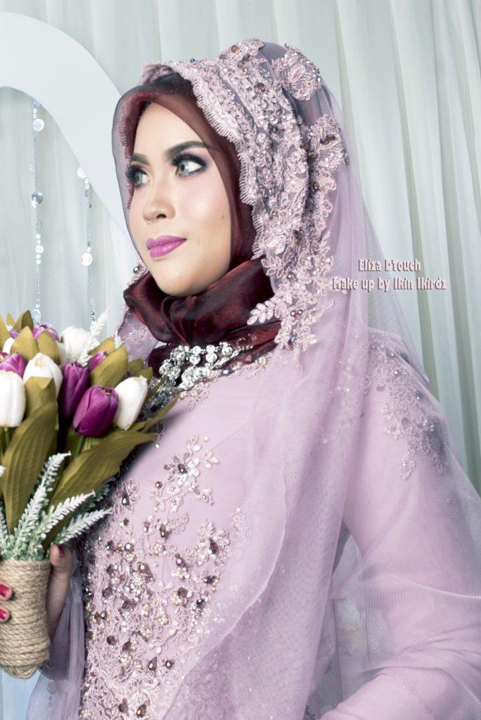 kelas bengkel kursus make up murah cantik pengantin nikah sanding