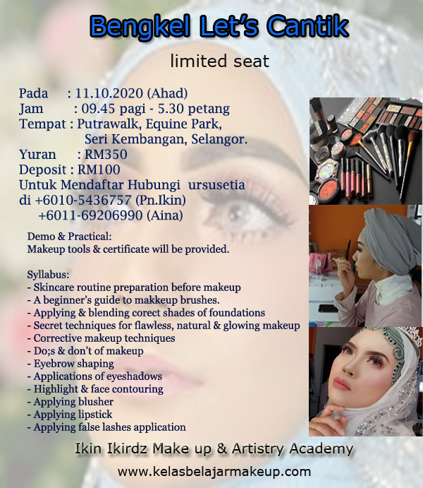 bengkel-solekan-asas-basic-make-up-grooming-class